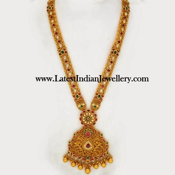 Antique Gold Bridal Haram