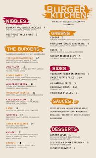 Usen Gandara Art Design Burger Kitchen Menu Logo And