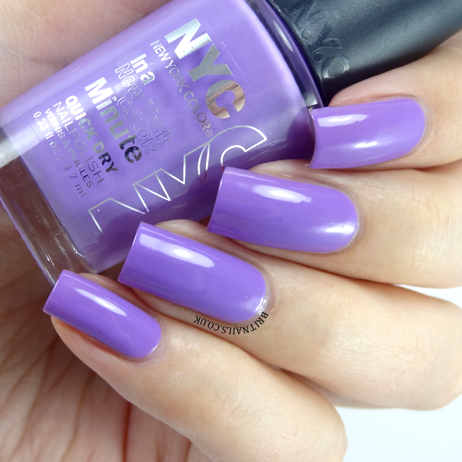 NYC Lavender Blossom