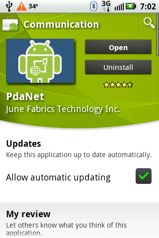 Download and Install PdaNet on Your Cell Phone