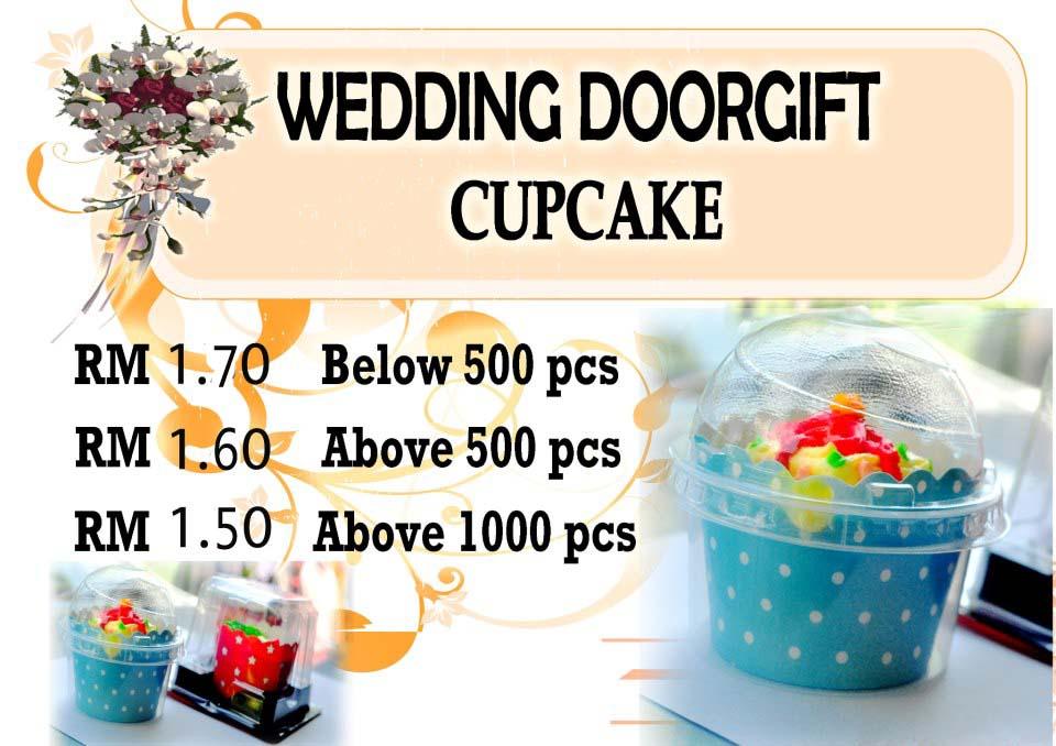 Idaera cupcakes cookies doorgift perkahwinan murah dan for Idea untuk doorgift perkahwinan