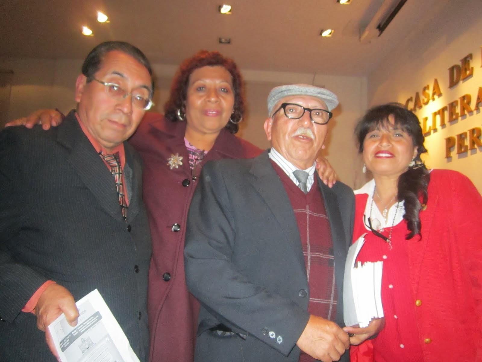 Encuentro de poetas en Lima-Perú