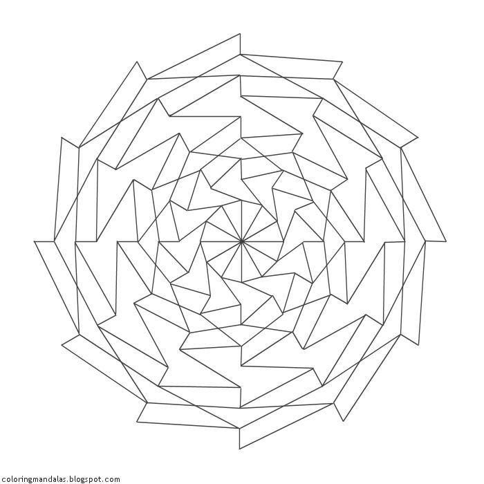 Coloring Mandalas 20 Perseverance