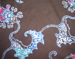 batik tulis corak burung