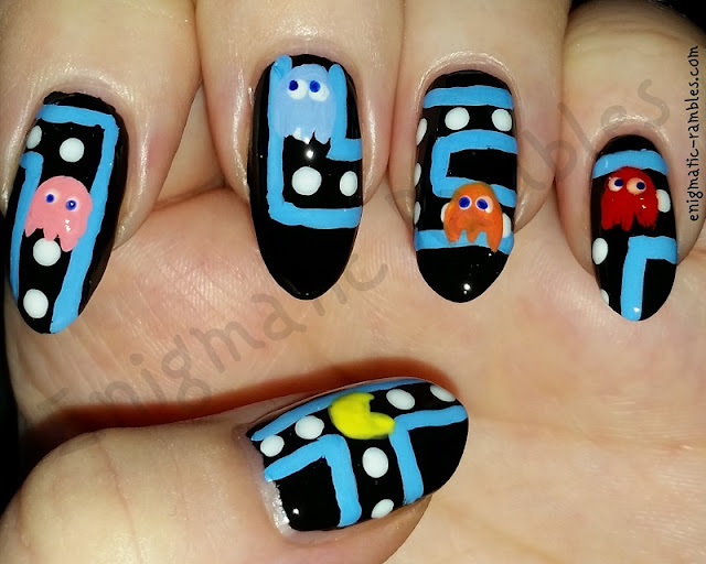 pac-man-pacman-geek-nails-nail-art