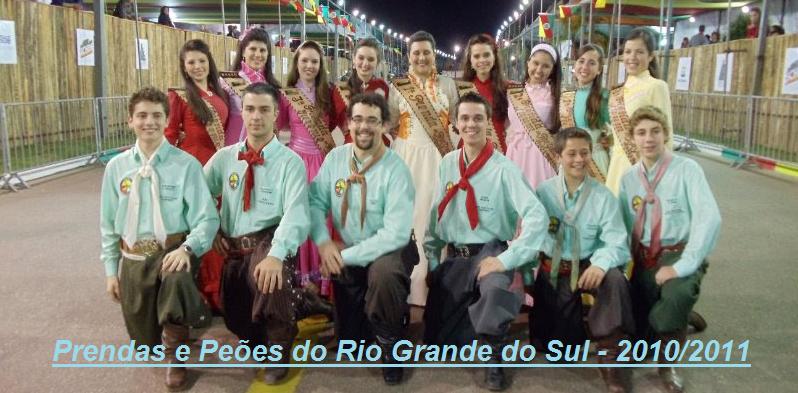 Prendas e Peões do RS 2010/2011