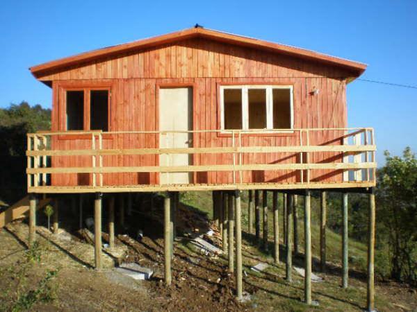 Delineado y armado de estructuras en madera modelos de - Estructuras casas de madera ...