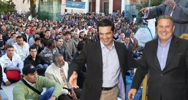 Ομολογία Σύριζα - Ανέλ: Κανείς δεν μας υποχρεώνει να χτίσουμε το τζαμί! Έτσι προωθούμε την ισλαμοποίηση της Ελλάδος