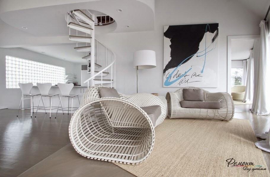 Original Living Room Sofa Design Made Of Wood