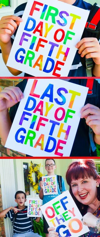 Grab my back-to-school bundle in the shop...including fun printables for parents, too!