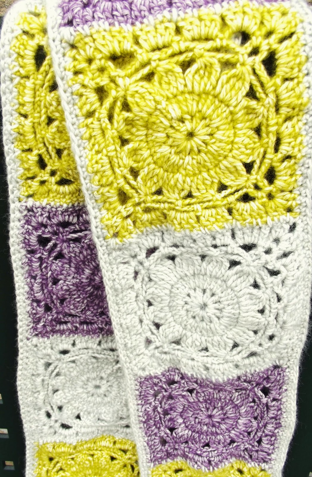 how to make a flower from a square scarf