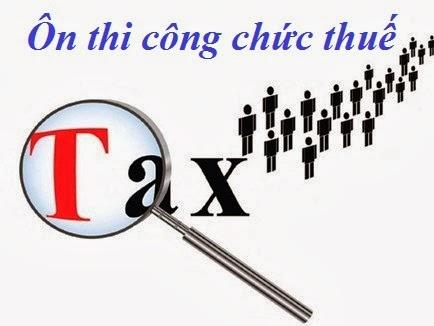 tai lieu on thi cong chuc thue