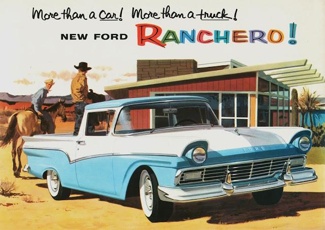 フォード・ランチェロ 初代 | Ford Ranchero (1957-59)