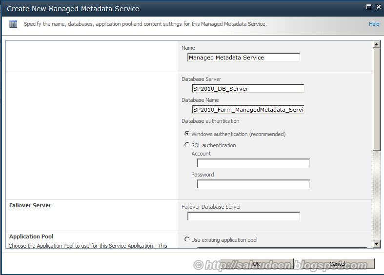 sharepoint managed metadata create