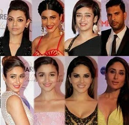 Hot Celebs@Ciroc Filmfare Glamour & Style Awards