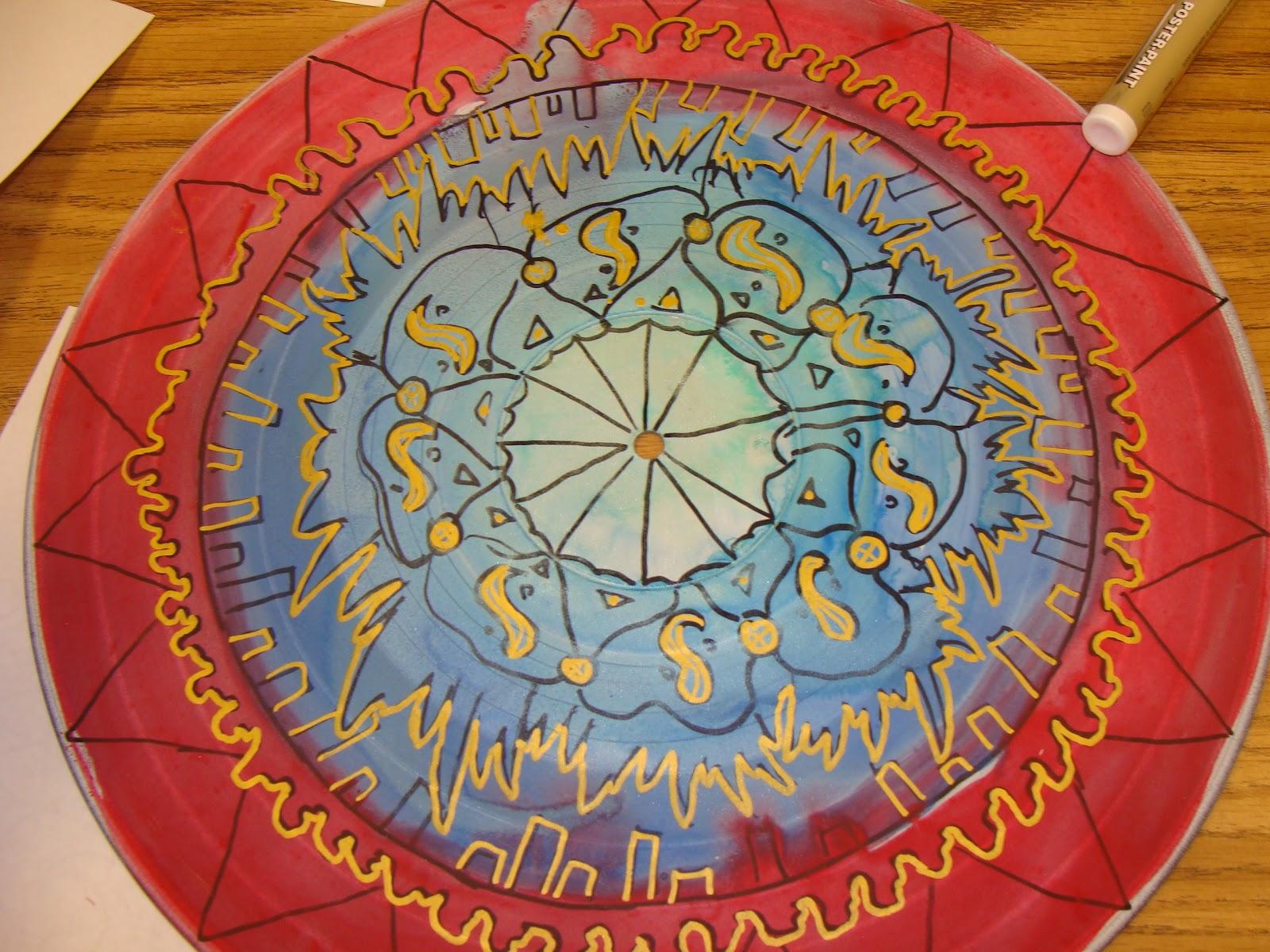 Eye Pop Art Da Vinci Mandala Project