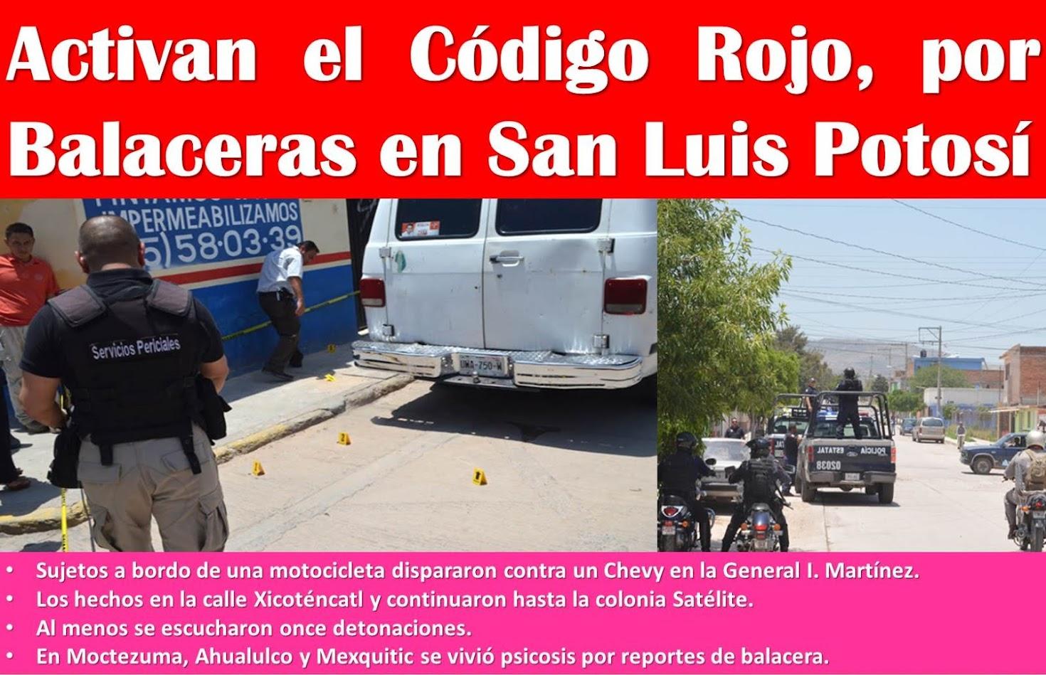 ESCALA LA VIOLENCIA DE LOS PISTOLEROS.......