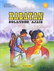 toko buku rahma: buku KABAYAN BOLANDHO AJAIB, pengarang chanel, penerbit taufik