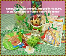 ♥Presentinhos que Enviei para Minha Amiga Roseli♥ Toquinha de Natal do Blog da Van Castro♥