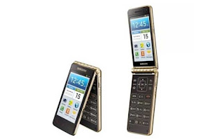 رسميا سامسونغ تكشف عن هاتف ذكي بتصميم جديد