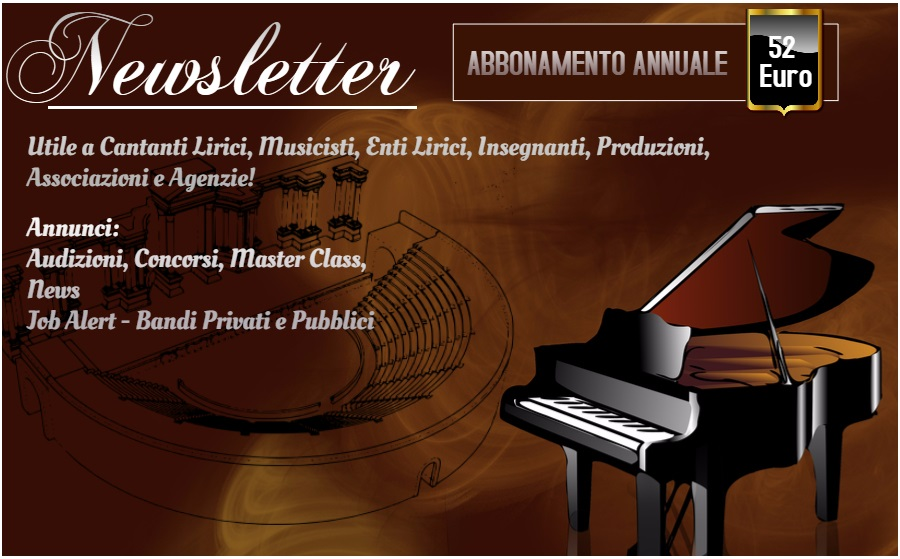 Audizioni, Concorsi, Master Class...
