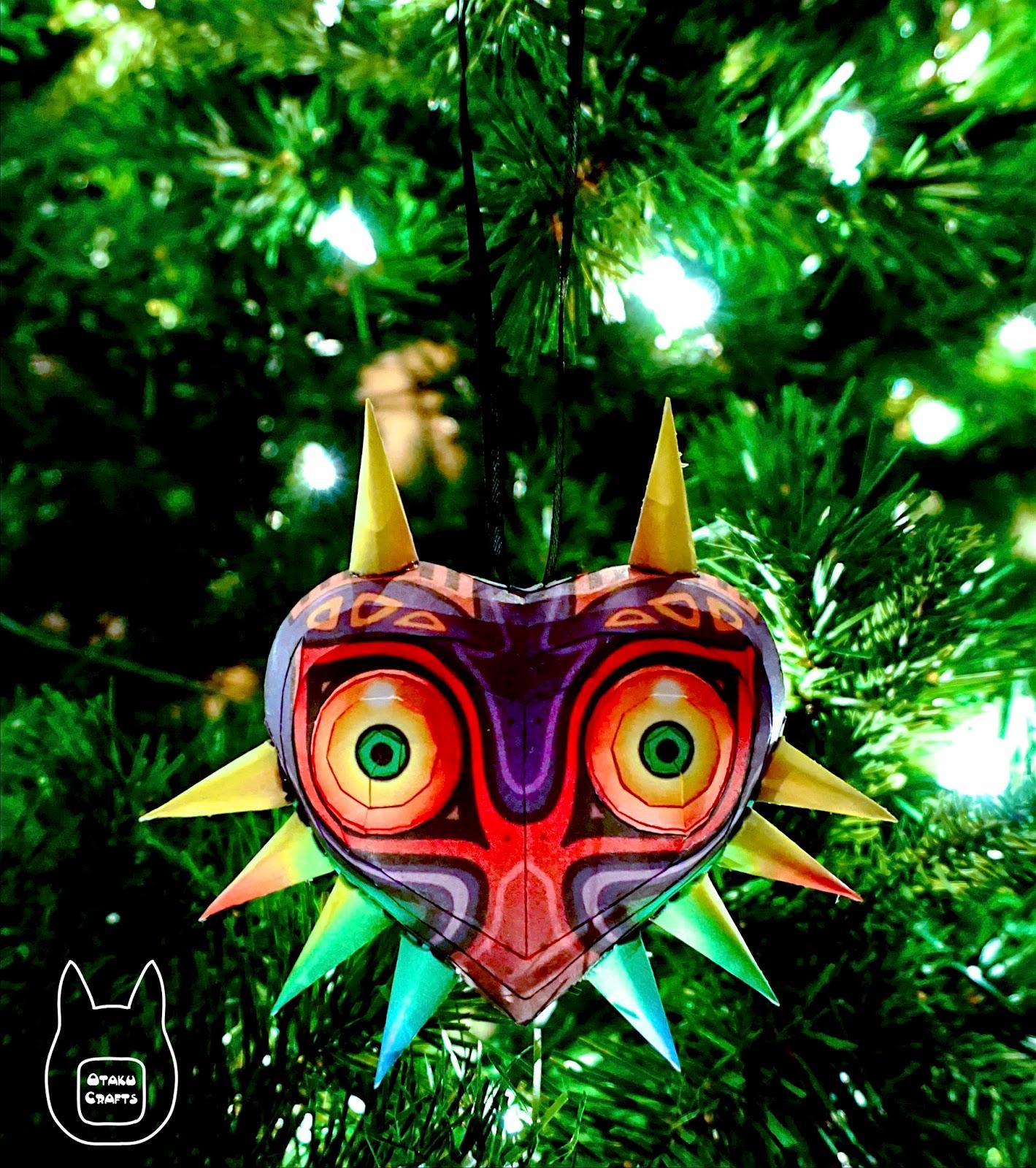 Otaku Crafts: Majora\'s Mask Papercraft Ornament