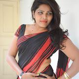 Sitara Hot Photos in Saree at Gundello Guchi Guchi Champake Movie Press Meet 39