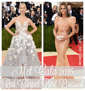 Best Dressed At Met Gala 2016.