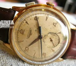 Longines 1 button chronograph