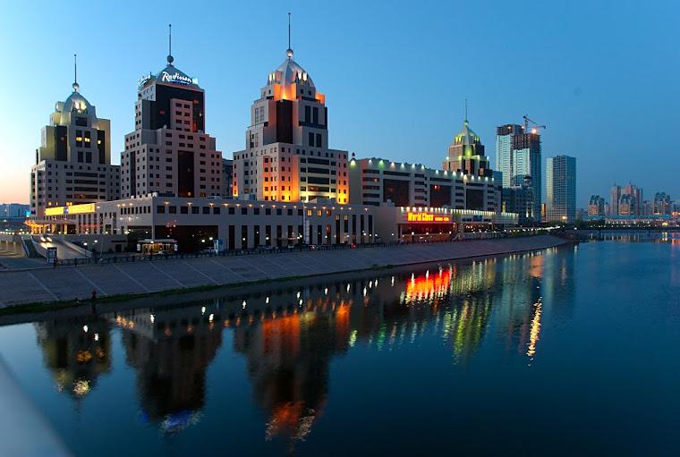 Astana - Stolica Kazachstanu