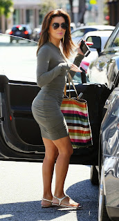 Eva Longoria in tight dress out in West Hollywood 4.jpg