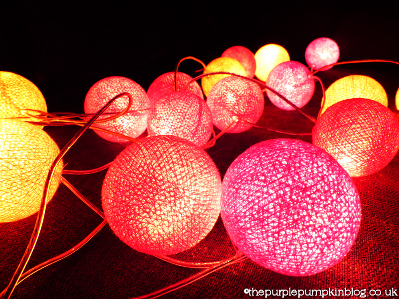 Lava Lamp String Lights : Cable & Cotton String Lights - Review The Purple Pumpkin Blog