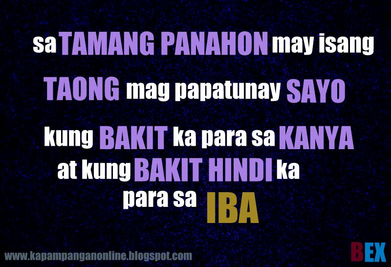 kapampangan online love quotes 3