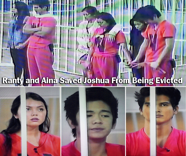 Ranty and Aina Saved Joshua From Being Evicted