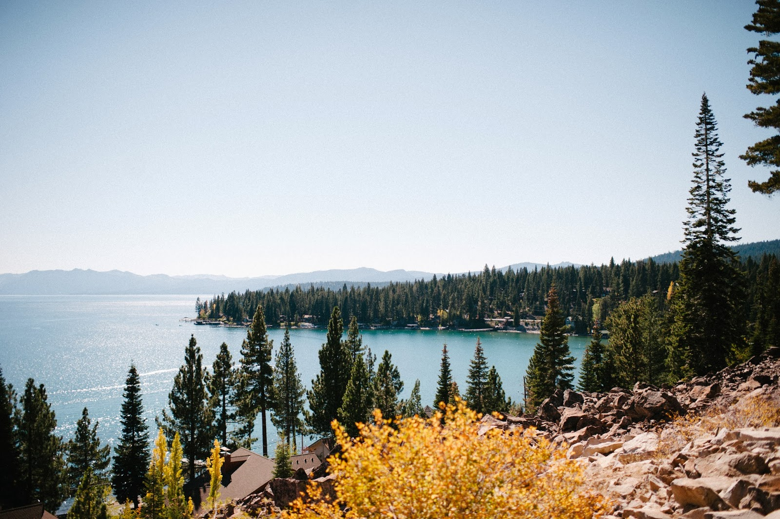 Lake Tahoe in the fall // Acres of Hope Photography // Take the Cake Event Planning