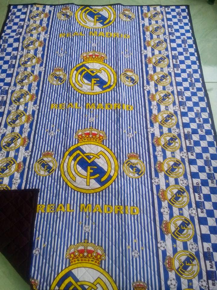tikar dakron motif real madrid 2