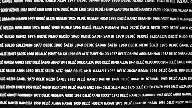Srebrenica Exhibition, Sarajevo