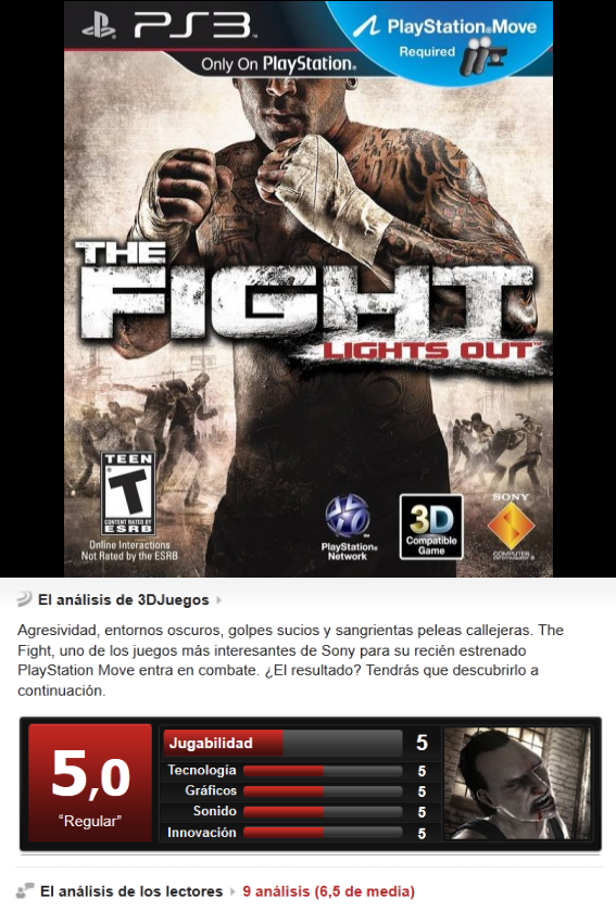 The Fight: Lights Out [PS3][Esp][3.55]