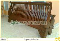 Tempat tidur kayu jati ukir jepara Bagong Jari Salur murah.Jakarta