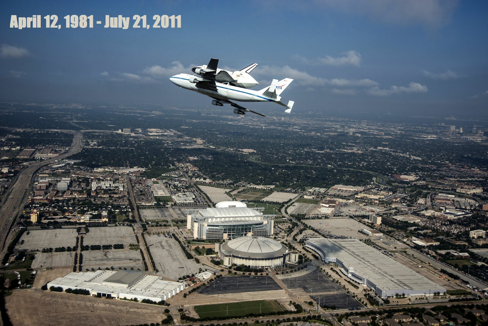 Space Shuttle Endeavour and 747 Shuttle Carrier