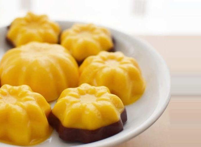 Resep Puding Labu Kuning Gula Merah | Resep Masakan Sehari-hari ...