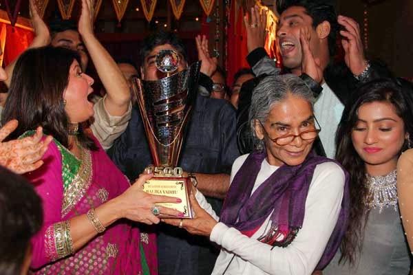 Television serial Balika Vadhu team