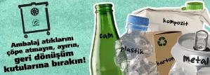 Ambalaj atıkları çöp değildir!