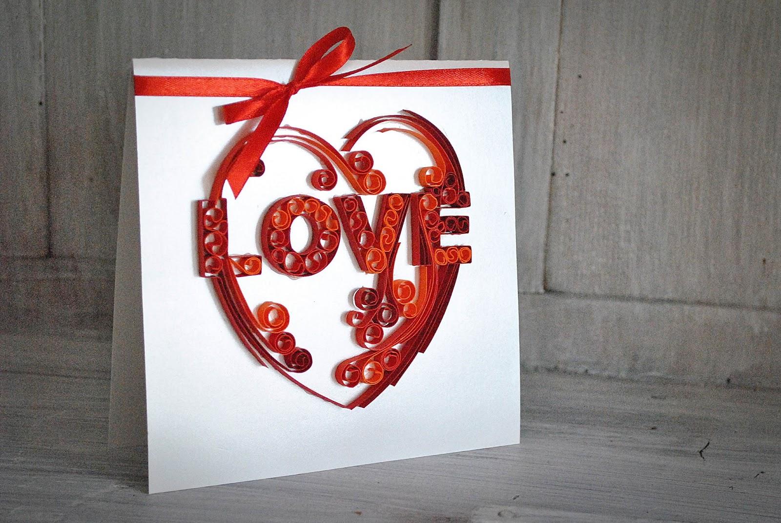 Kartka LOVE…