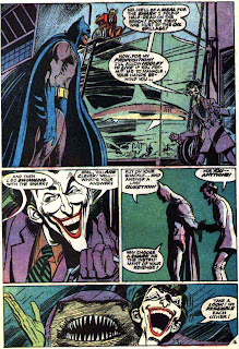 Batman v1 #251 dc comic book page art by Neal Adams