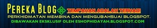 eShop Hidayah Pereka Blog
