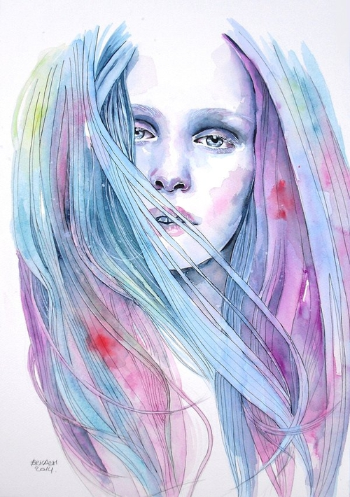 10-Forbidden-Colors-Erica-Dal-Maso-Expressing-Emotions-Through-Watercolor-Paintings-www-designstack-co