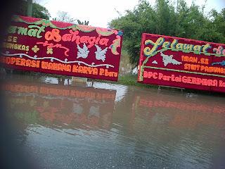 Banjir di Kondangan