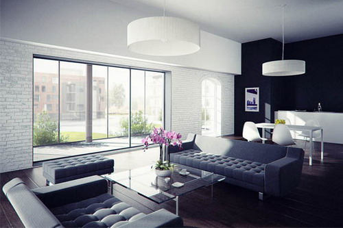 Luxury Modern Focal Point Studio Apartment Picture