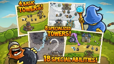 HACK MOD Kingdom Rush 2.3.5 APK ANDROID MONEY